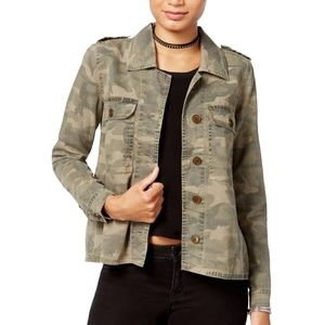 ⭐️ NWT ⭐️ Lucky Brand Military Camo Jacket